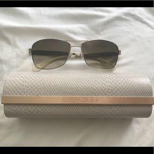 e7d572af3654 Jimmy Choo Accessories - Jimmy Choo Cris S 03YG JD Aviator Sunglasses